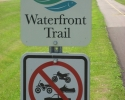 sign for Ontario's Waterfront