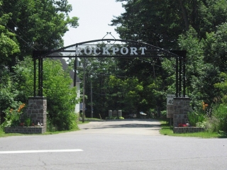 entrance to Rockport