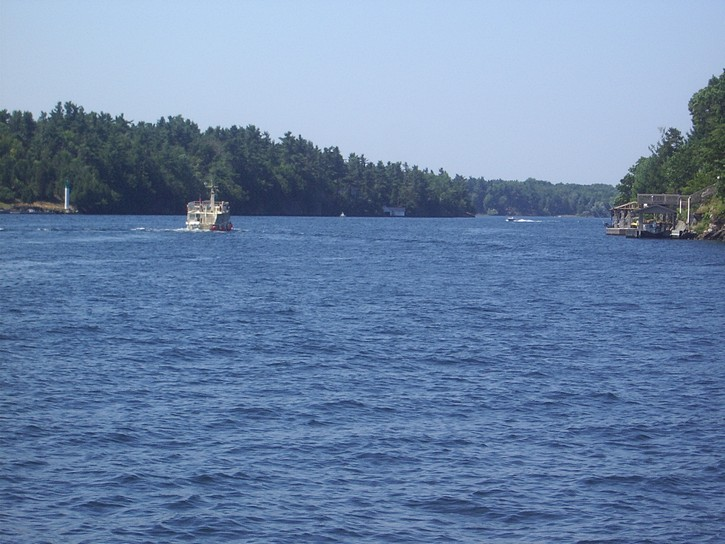 The Thousand Islands near Rockport.