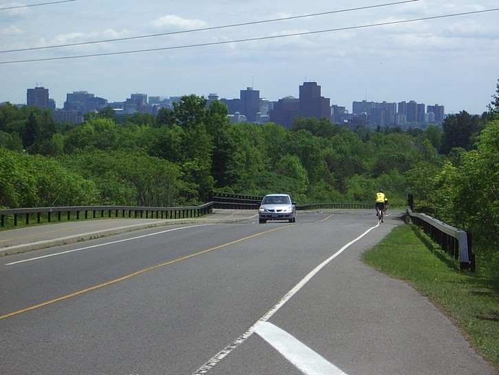Ottawa skyline from Gatineau Park
