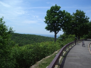 The Huron Lookout in The Gatineau Park.