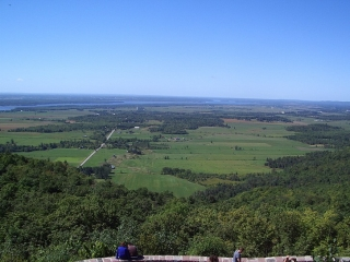 Ottawa Valley from the Champlain Lookout