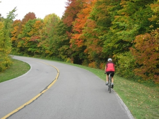 King Mountain hill in the Gatineau Park