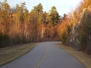 Parkway in the Gatineau Park