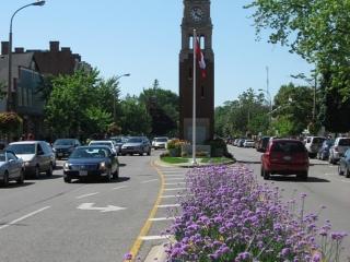 Clock Tower in Niagara-on-the-Lake.