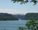 view  when heading towards Niagara Falls