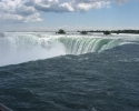 Horseshoe Falls on the Canadian side of the Niagara Falls