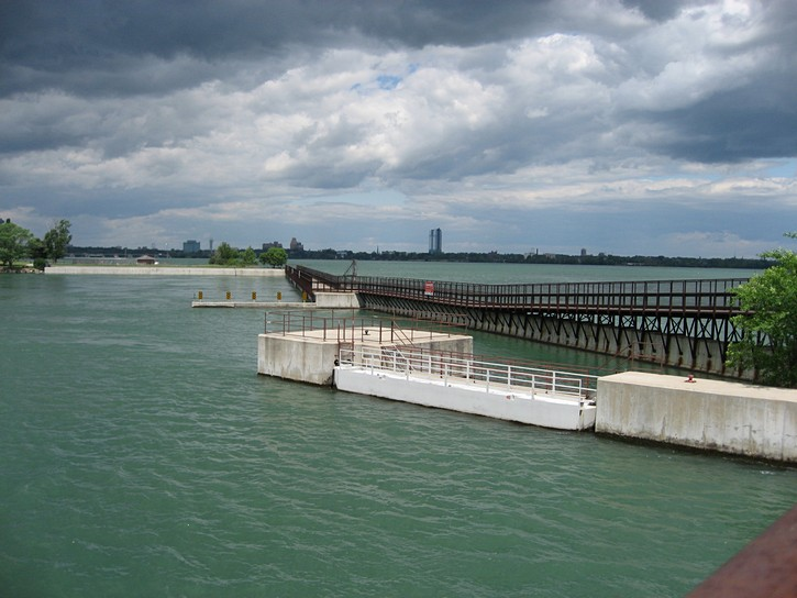 mouth of the Welland River