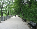 waterfront path east of Fort Erie.