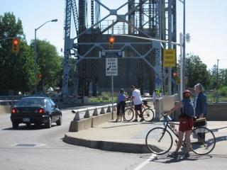 lift bridges acoss the Welland Canal
