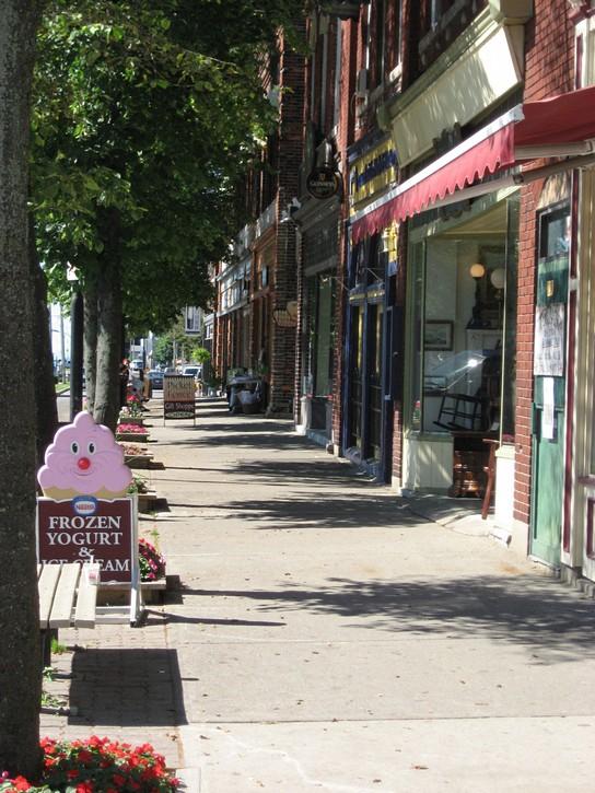 West Street in Port Colborne