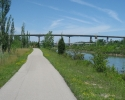 bike path near St. Catharines