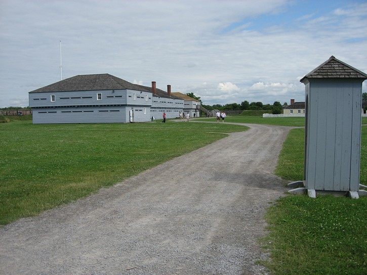 The Fort George National Historic Site