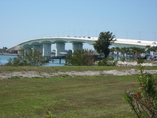 bridge from Sarasota to Lido Key