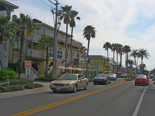 Bridge Street on Anna Maria Island