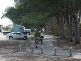 cyclists on Anna Maria Island