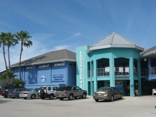 the Mote Aquarium and Laboratory on Lido Key