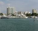 Sarasota's bayfront area