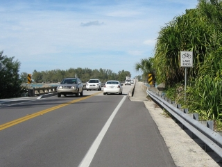 bridge between Longboat Key and Anna Maria Island