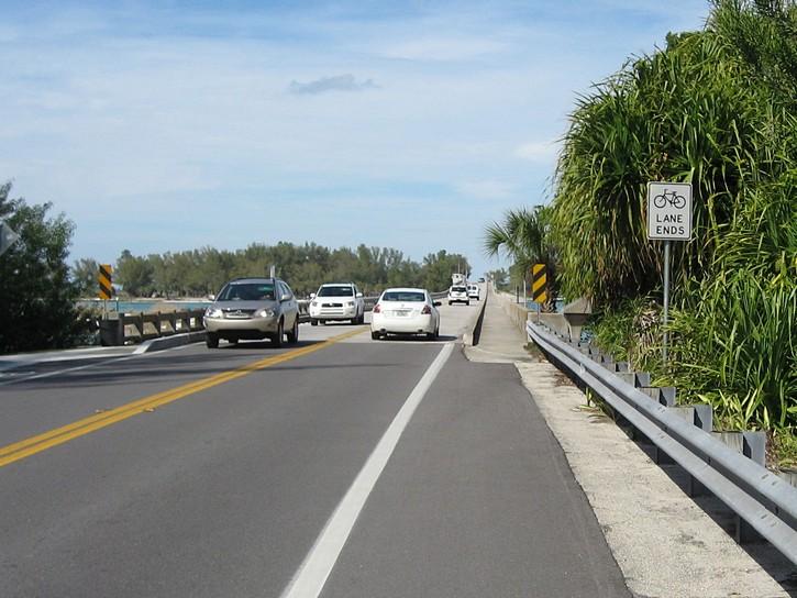 bridge between Longboat Key and Anna Maria Island