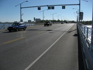 Champlain Bridge over Ottawa River
