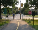 pathway at Maitland Ave.
