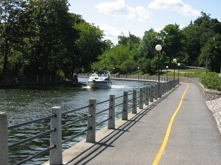 Rideau Canal pathway