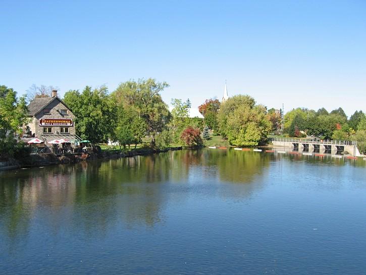 Mississippi River in Carleton Place