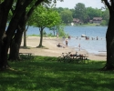 beach on St. Lawrence River