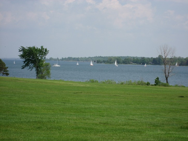 sailabot on St. Lawrence River