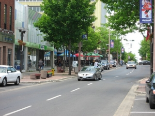 downtown Cornwall