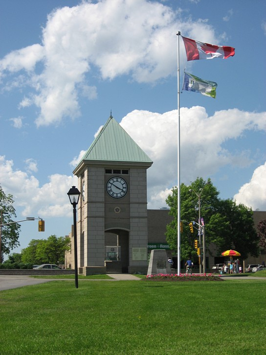 waterfront park in Cornwall, Ontario