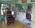 old barber shop chair