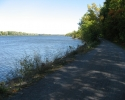 path next to Ottawa River