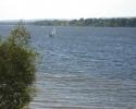 sailboat on Ottawa River