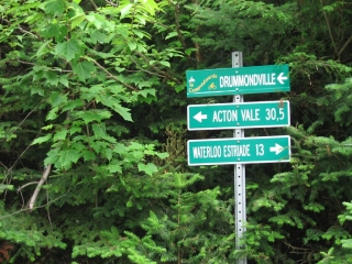 bicycle trail signs