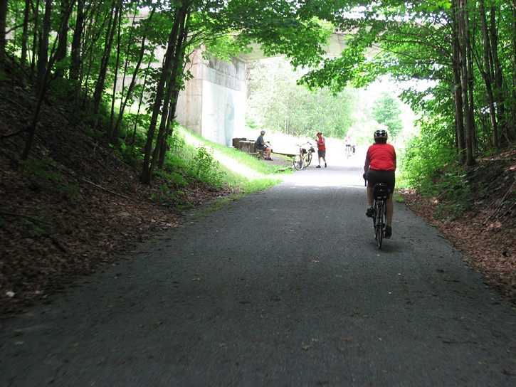 bike trail near Waterloo, Quebec