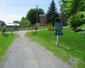 end of trail at Town of Waterloo, Quebec