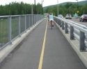 bicycle path over Autoroute Highway 10