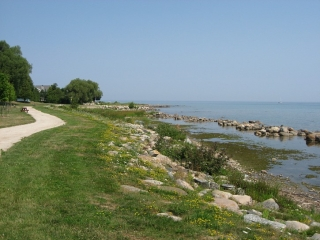 The Georgian Trail near Meaford.