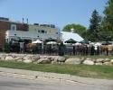 restaurant/pub patio in Thornbury.
