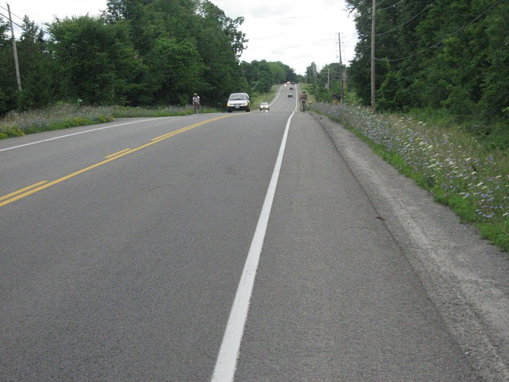 Highway 2 between Gananaque and Kingston