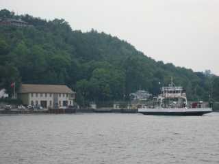 the Glenora Ferry