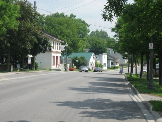 Highway 33 in the Village of Bath.