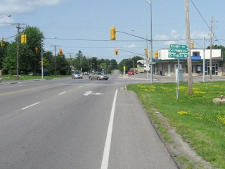Front Street in west-end Kingston