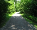 path in the Lemoine Point Conservation Area