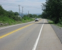 Highway 33 near Collin's Bay