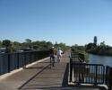 bridge on  the Legacy Trail.