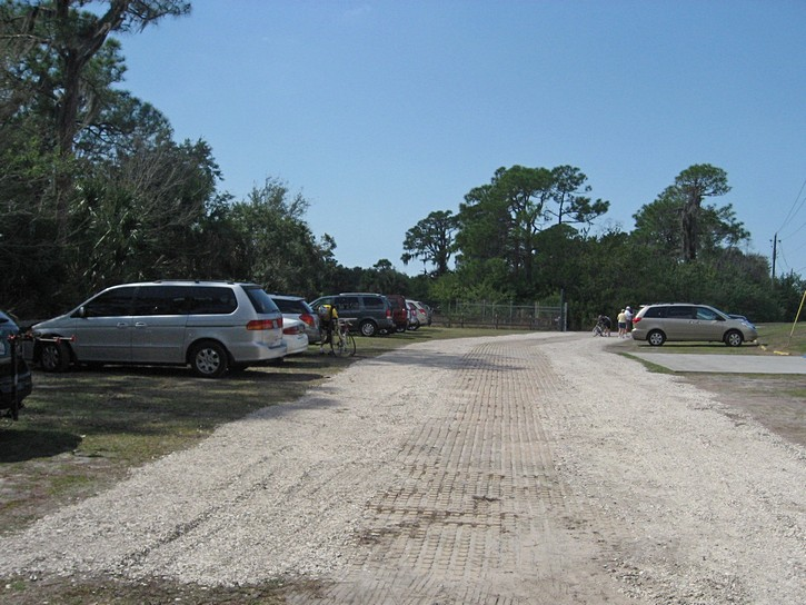 Legacy Trail  parking lot