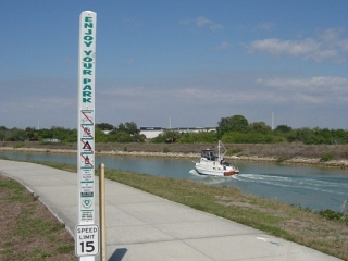 the Venetian Waterway Trail.